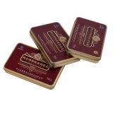 최신 판매 금속 형식 둥근 정연한 장방형 패킹 포장 선물 양철 깡통 상자