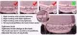 새로운 형식 검정 바브 똑바른 레이스 정면 합성 물질 가발