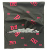 Продукция фабрики подгоняла красный логос напечатала грелку шеи 25*50cm черную Microfiber многофункциональную