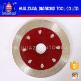 Lâmina de corte de mosaico melhor Aro contínua do disco de diamante sinterizado
