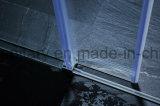 Schermo di acquazzone di vetro di scivolamento dell'intestazione