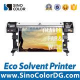 impresora solvente Sinocolor Es640c del vinilo del 1.6m 1440dpi Eco con las pistas de Epson