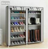 Armoire de racks de chaussures Chaussures de grande capacité de stockage de mobilier de maison DIY Rack simple chaussure Portable (FS-03J)