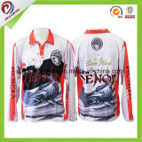 Kundenspezifische trockene Sitz-Turnier-Fischen-Jersey-Fisch-Hemden