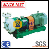 Pompa centrifuga allineata rivestimento orizzontale di PFA per il trasferimento della soluzione acida