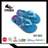 Дешевое промотирование сделанный Китай подгонянными Flops Flip PE для женщины