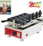 304 ss poisson Taiyaki Gaufrier Machine Pan bouche ouverte