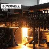 Sunswell China Nuevo diseño de soplado de refrescos llenando Combiblock tapadora máquina