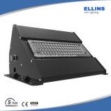 Luz al aire libre 20W40W60W80W100W120W 140lm/W del paquete de la pared de la luz LED de la pared