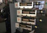 Três máquina de impressão plástica Offset do copo de quatro cores