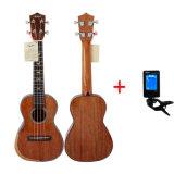 Торговая марка Aiersi концерт всех твердых акустические Fingerstyle Ukulele из красного дерева
