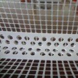 2.5m de Parel van de Hoek van pvc van de Lengte met 10cm het Netwerk van de Glasvezel