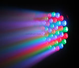 Venta directa de fábrica Pcsx3w RGBW Cabezal movible LED de lavado de haz de luz con Ce/RoHS/FCC con CE