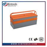 Caixa de ferramentas do metal com roda