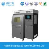 Stampante industriale 3DSL600 del grado SLA 3D della struttura del blocco per grafici del metallo