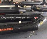 Bateau gonflable de délivrance de Liya 2m-6.5m avec du matériau à l'épreuve des balles ignifuge