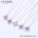 44715 Kristallen van de Halsbanden van het Bergkristal van de Kleur van de Arduinsteen van de Windmolen Xuping de Bruids van Swarovski