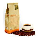 Мешок кофеего оптовой бортовой черноты Gusset штейновый с клапаном