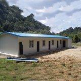 La norma ISO rápido construir muebles modulares prefabricados casas prefabricadas de techo de pendiente