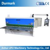 Máquina que pela manual QC11K-8*6000 del metal de hoja del metal del hierro de la placa de la máquina de acero hidráulica del corte