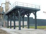 Plataforma de la estructura de acero
