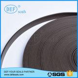 Черный цвет PTFE заполненный с лентой направляющего выступа углерода