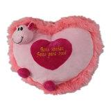 Het gevulde Kussen van het Hart voor de Giften van de Dag van de Valentijnskaart