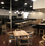 미국 작풍 주문품 전 세트 햄버거 대중음식점 가구