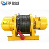 Alzamiento eléctrico de Elelctric de los tornos de la cuerda de alambre del alzamiento de la construcción