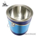 Popular OEM de promoción de 2.5 litros de embalaje lata de metal con mango