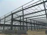 Edificio prefabricado de la estructura de acero de la configuración moderna con L dimensión de una variable