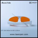 2 línea anteojos de la protección del laser de las gafas de seguridad de laser de YAG y de Ktp de Laserpair