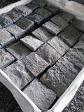G654 Gris/Gris/Beige cubos piedras flameados Adoquines