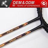 Le sport professionnel fibre carbone graphite Raquette Badminton