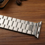 Appleの腕時計のための固体ステンレス鋼の時計バンド