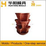 Пластиковый Наращиваемые Flowerpot пресс-формы (HY145)