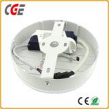Iluminación del panel de luces LED de 6+3W/12+4W/18+6W cuadrado/ronda de las luces del panel de LED