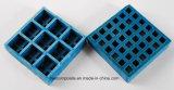 FRP/GRP dubbele Vierkante Micro- Mesh//Fiberglass Dubbele Laag Gevormde Grating