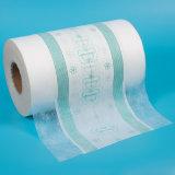 Película respirable del PE suave de encargo al por mayor de los productos del SGS ISO9001 para los pañales del bebé