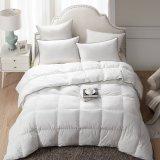De alta calidad al por mayor blanco de tamaño King Size Edredones edredón edredón ropa de cama