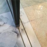 Panel de Vidrio puertas correderas de aluminio con persianas automáticas