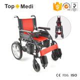 2017 prix se pliants électriques de fauteuil roulant de pouvoir d'appareil médical chaud de vente des handicapés