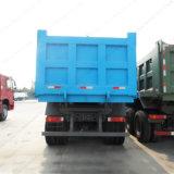 봄 현탁액 HOWO Sinotruk 6X4 쓰레기꾼 또는 팁 주는 사람 덤프 트럭