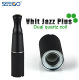 Jazz duel à extrémité élevé de Vhit de kit de démarrage de Vape de bobine de Seego Quartzs plus le vaporisateur pour la cire