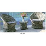 Mobília quente do pátio do Sell de Guangdong ajustada para ao ar livre