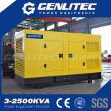 AC Trifásico gerador de tipo de saída 375kVA 300kw em silêncio