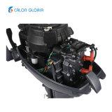 널리 이용되는 2개의 치기 물 냉각 수동 시작 아웃보우드 보트 엔진 15HP
