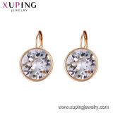 Xuping arabische Goldohrring-Entwurfs-Kristalle von den Swarovski Elementen