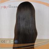 Gerades brasilianisches Haar-natürliche Farben-Perücke (PPG-l-0861)