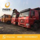 Gebruikte Kipper van de Vrachtwagen van de Stortplaats HOWO 375 PK 8X4 met Uitstekende Kwaliteit en Lage Prijs